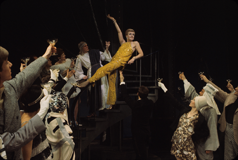 Angela Lansbury and the company of  Mame .