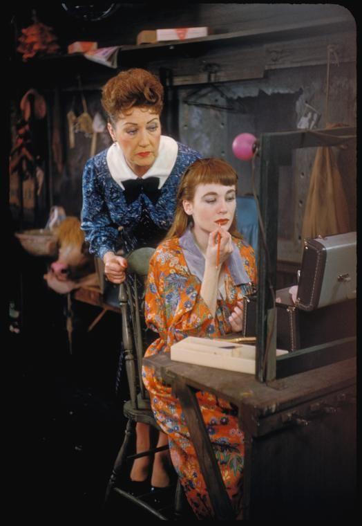 Ethel Merman and Sandra Church in Gypsy.
