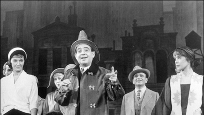 Tom Bosley (center) in  Fiorello!