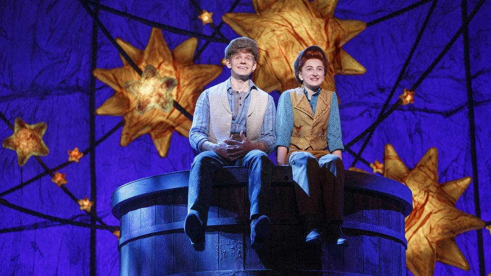 Andrew Keenan-Bolger and Sarah Charles Lewis in  Tuck Everlasting .