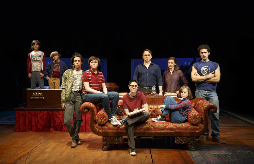 The original Broadway cast of  Fun Home .