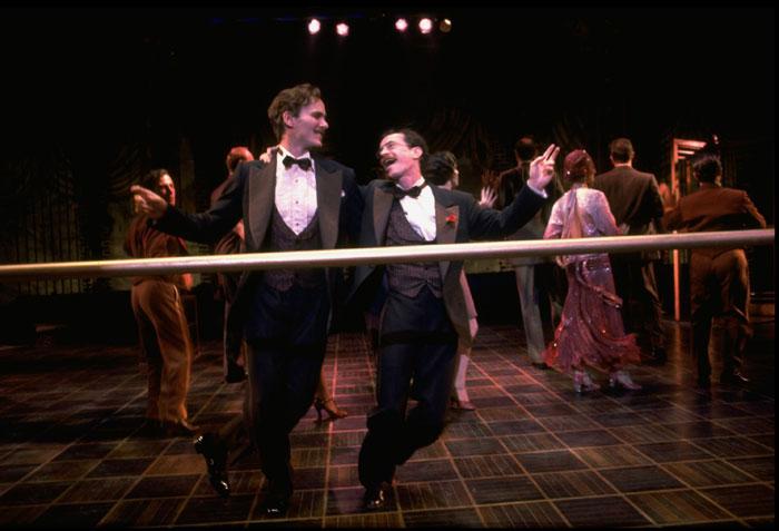 David Carroll and Derek Jeter in  Grand Hotel