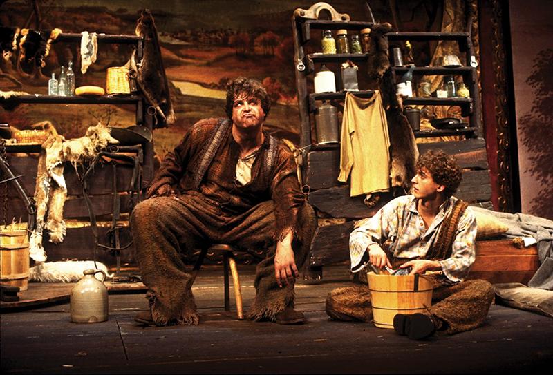 John Goodman and Daniel Jenkins in  Big River .