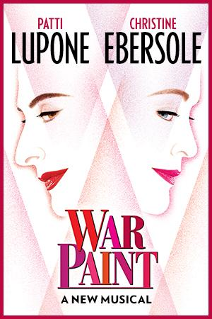 War Paint  Broadway logo