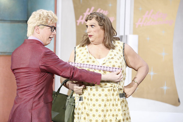 Sean Hayes and Harvey Fierstein in  Hairspray Live!