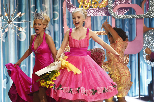 Kristin Chenoweth and Dove Cameron in  Hairspray Live!