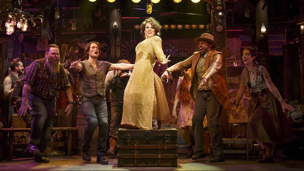 Leslie Kritzer and the cast of  The Robber Bridegroom