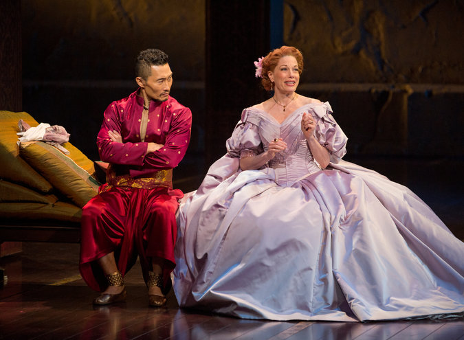 Daniel Dae Kim and Marin Mazzie in  The King and I