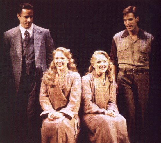 Jeff McCarthy, Emily Skinner, Alice Ripley and Hugh Panaro in Side Show