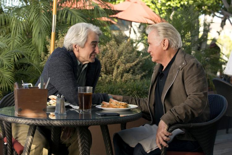 Sam Waterson and Martin Sheen