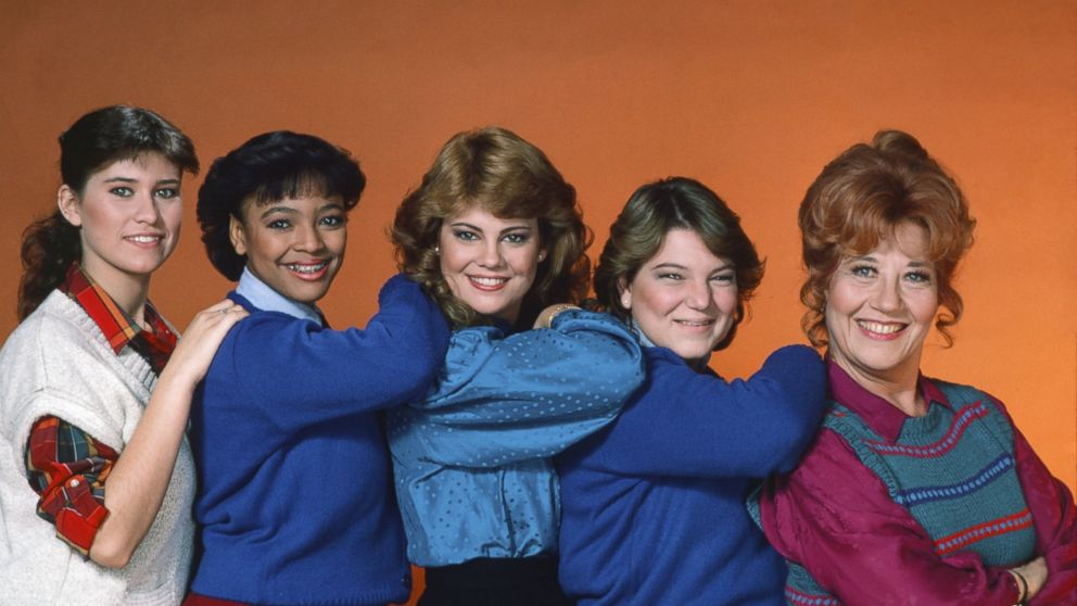 Nancy McKeon, Kim Fields, Lisa Welchel, Mindy Cohn, Charlotte Rae