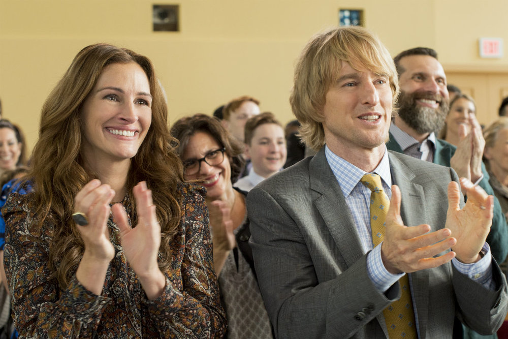 Julia Roberts and Owen Wilson