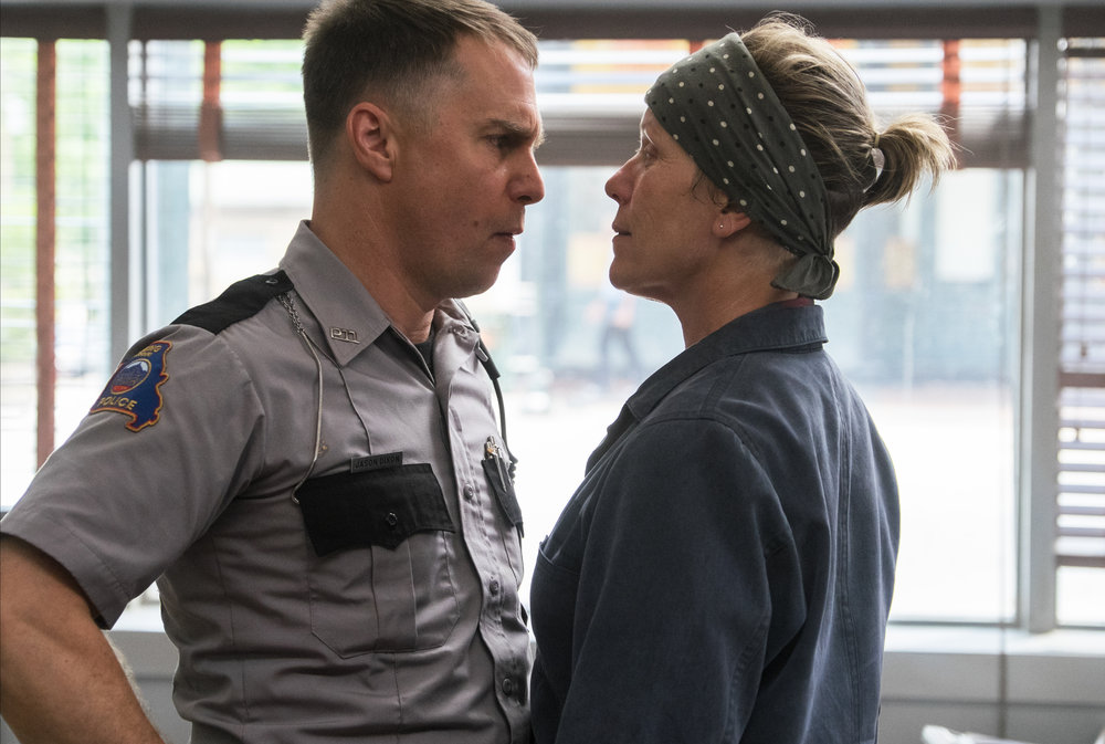 Sam Rockwell and Frances McDormand