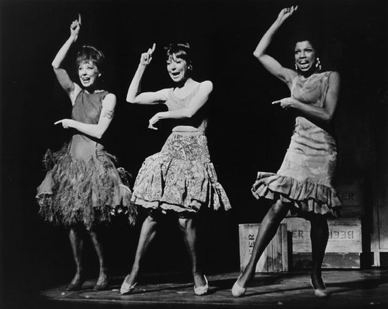 Gwen Verdon, Helen Gallagher and Thelma Oliver in a scene from  Sweet Charity