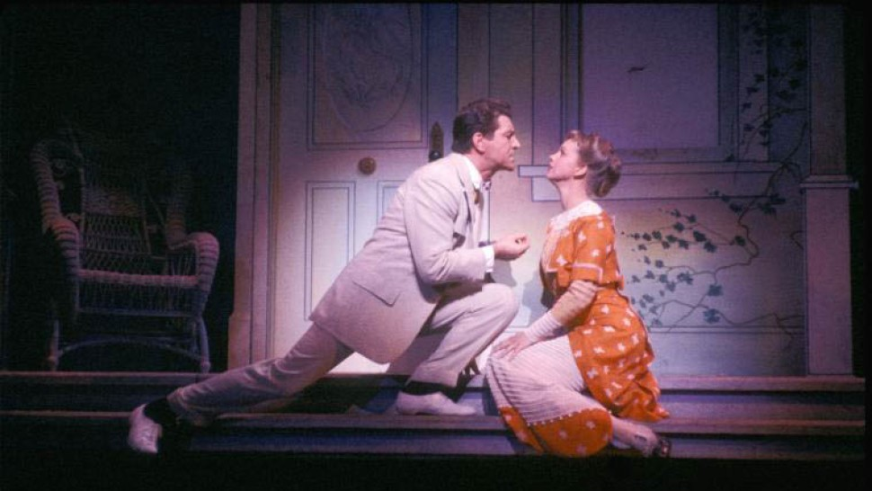 with Barbara Cook in  The Music Man