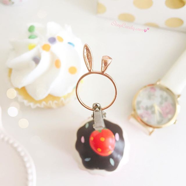 Stocking stuffers ideas!!! :D | iShopCandy.com #ishopcandy #jewelry #bunny #rabbit #🐰