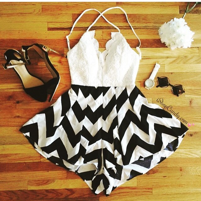The cutest romper for summer time! 😍 Get it at iShopCandy.com 💕 Use code CANDY for 10% off!