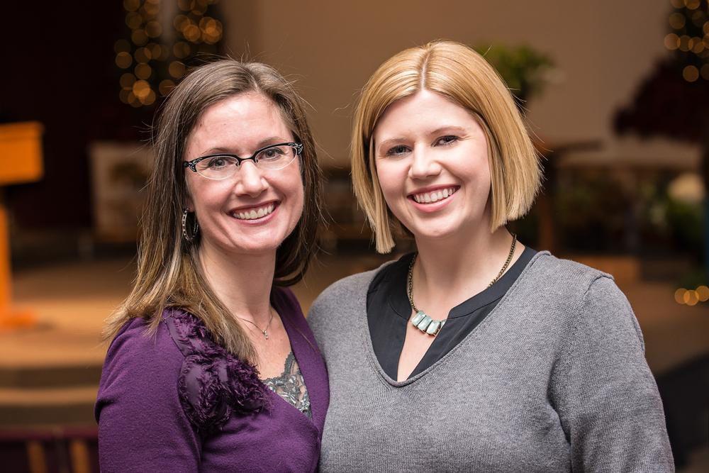 Chrystal Helmcke and Andrea McPherson