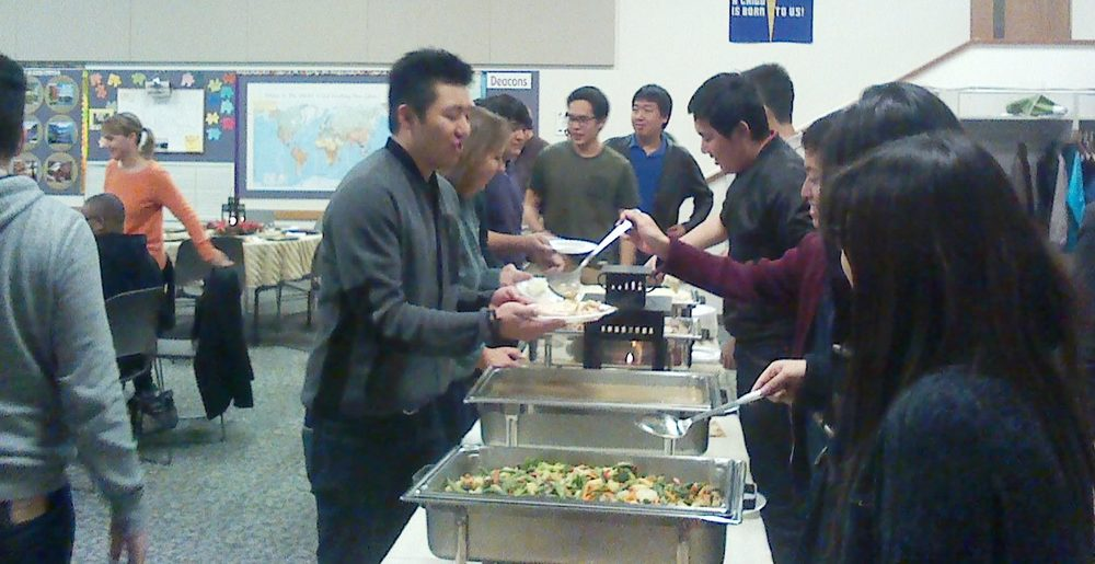 Hosting international students at Calvin PC.