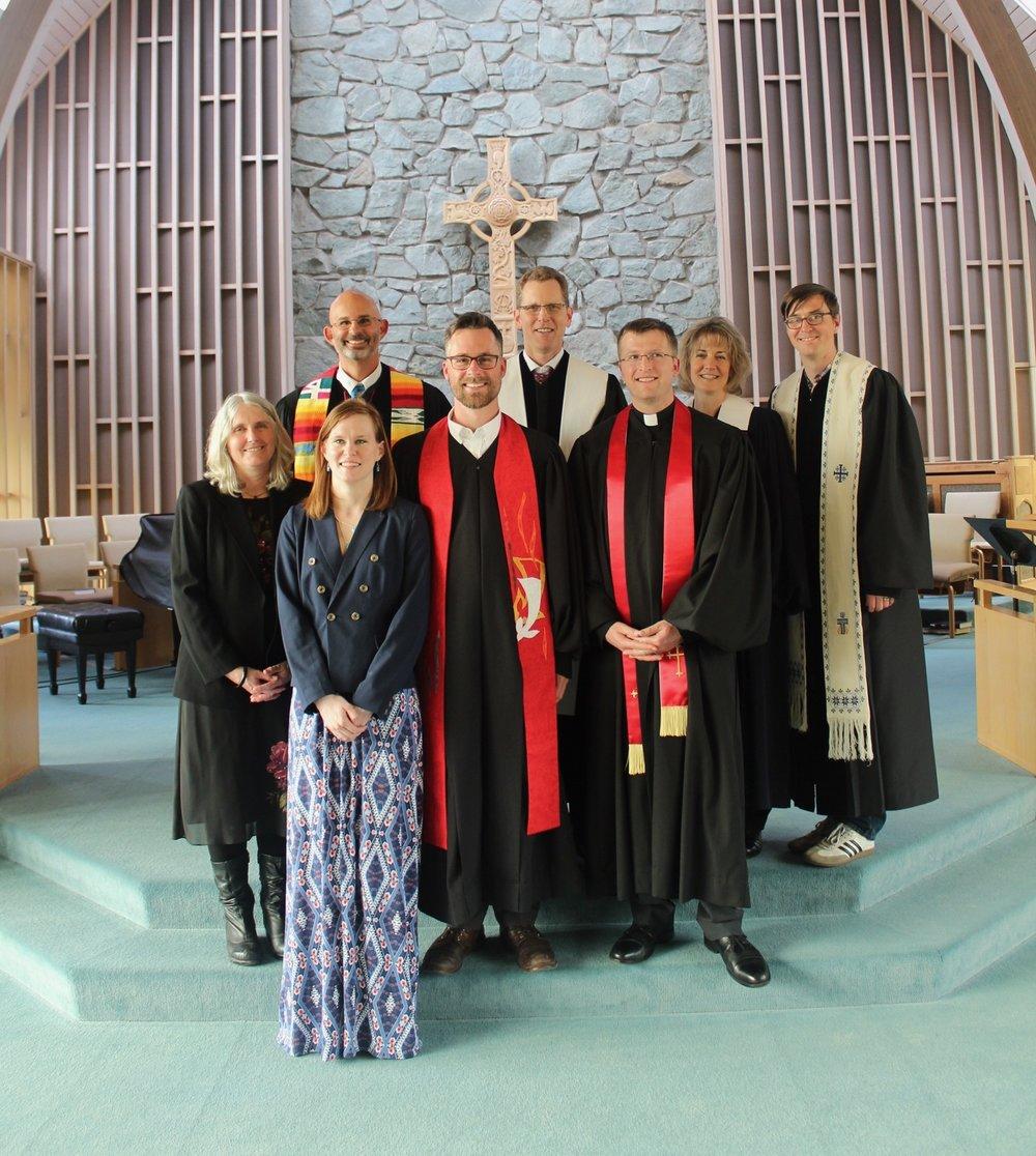 Installation Commission for Rev. Seth Thomas