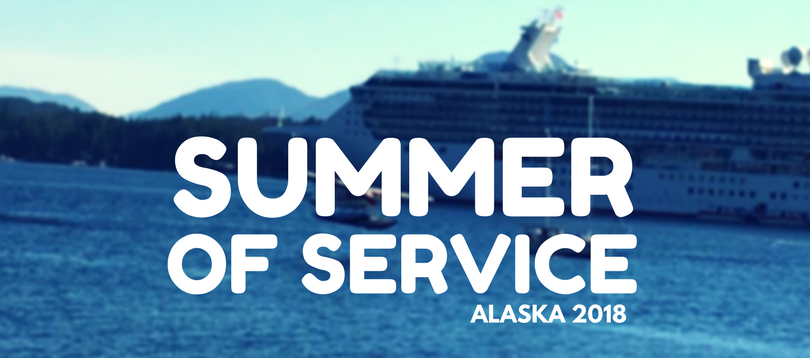 There are  service opps in SE Alaska for work teams .