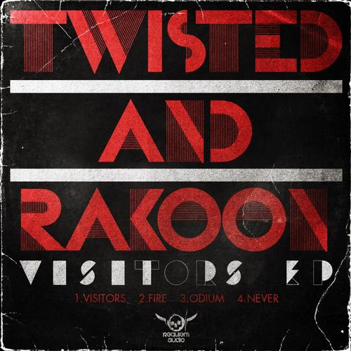 Twisted and Rakoon - Visitors EP<br>Label: Requiem Audio<br>Role: Mastering