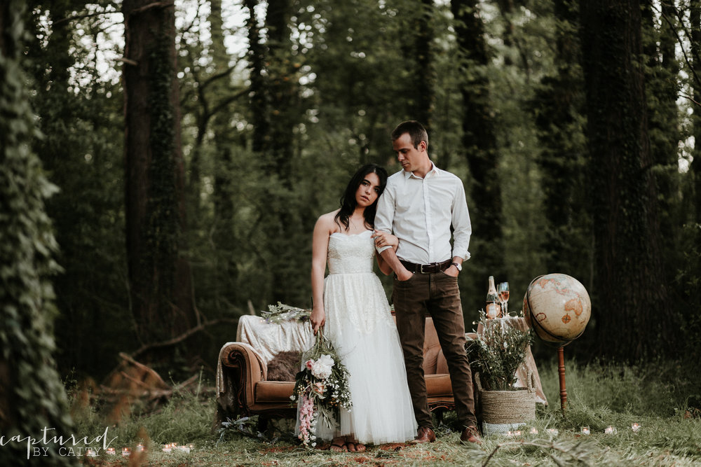 Wissahickon Trail - Styled Wedding Shoot