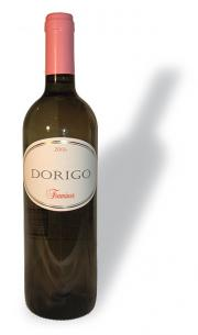 The 2006 Girolano Dorigo Traminer from Fruili. His foil is rose colored and his cork is lavender. He's floral on the palate and juuust fruity enough. A first-rate dinner guest, because he's sure to stay for dessert. He'll look great at the party and your guests won't be able to keep their hands off him.