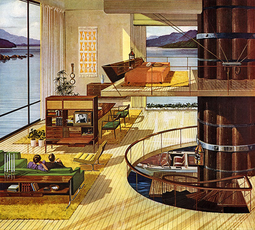 Motorola Dream House 1962  =  My  Dream House 2009.