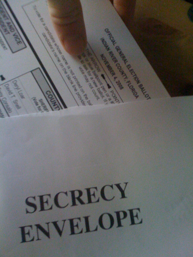"Ooooh, ""Secrecy Envelope."" It feels so old-timey and serious."