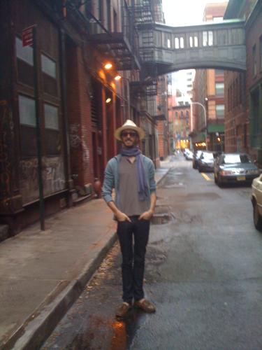 Staple Street in Tribeca. Tres cinematographique!