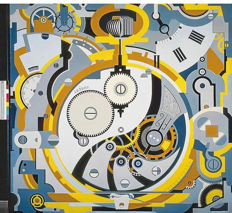 Gerald Murphy's  Watch , 1925