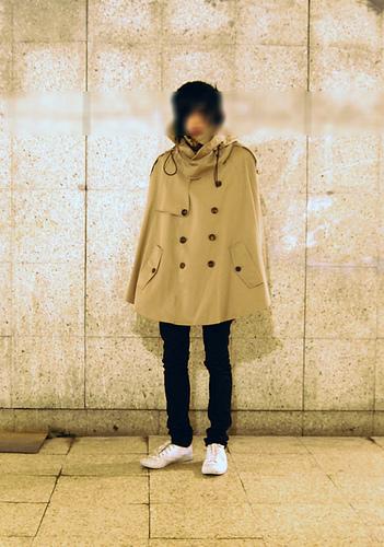 More  Juun J.  Trench coat cape!!? (via  superfuture )