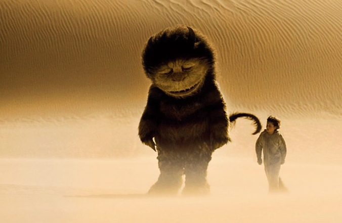 Where the Wild Things Are  (via  extrafirmhold )   I can't wait to see this.