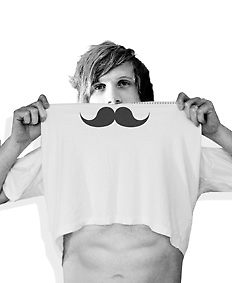 """T-shirt  by Reese Ward. """"Simply hold at points A and B, then hold up to your nose. Whallah!"""""""