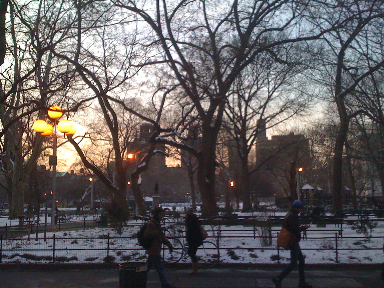 Washington Sq. Park. What a beaut.