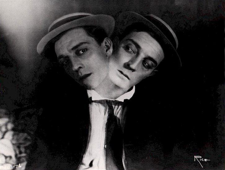 (via  teacakes )   Dr. Jekyl and Mr. Porkpie.