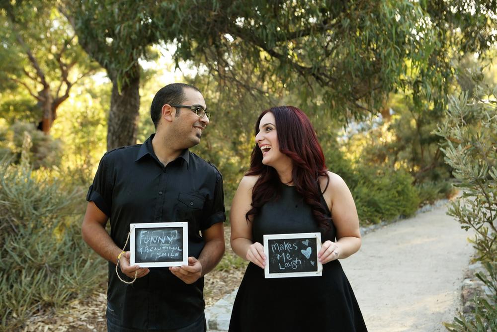 engagement photo perth