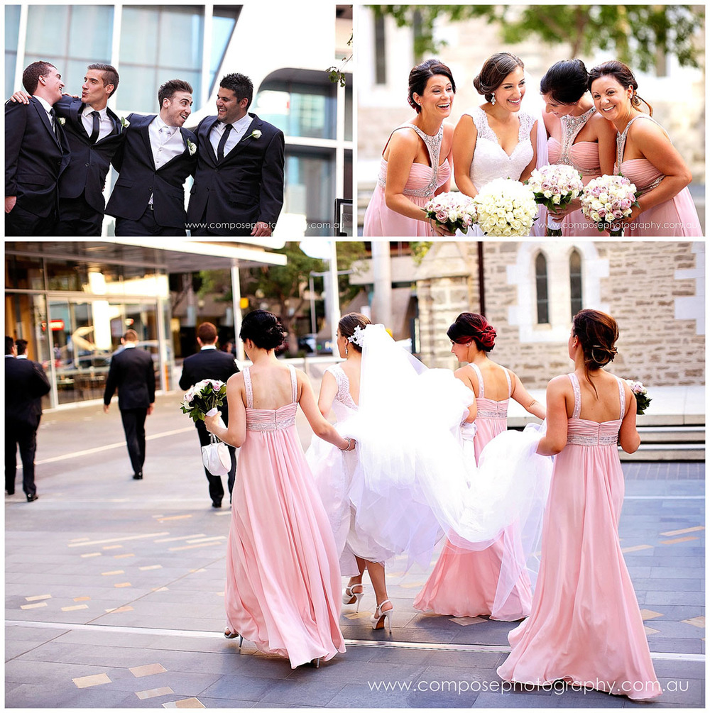 perth city wedding photo