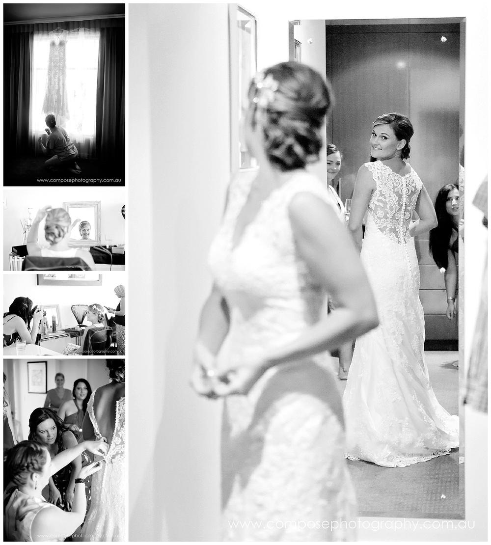 lace wedding dress perth