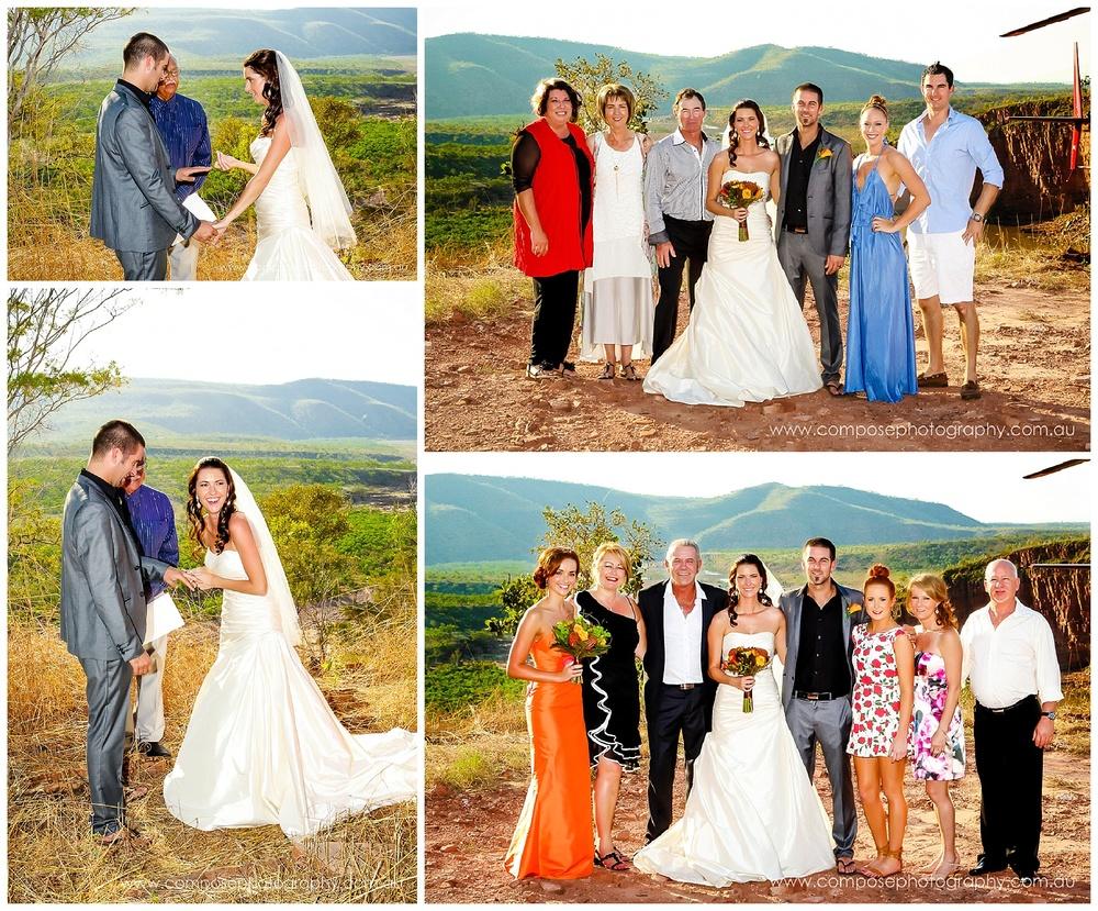 wedding ceremony el questro