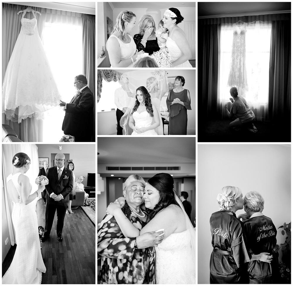 candid bridal