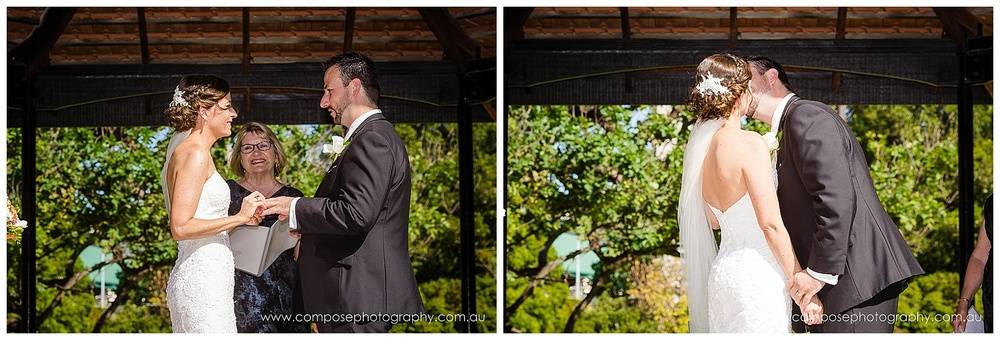 gazebo wedding perth