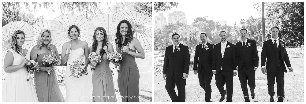 garden wedding ceremony perth