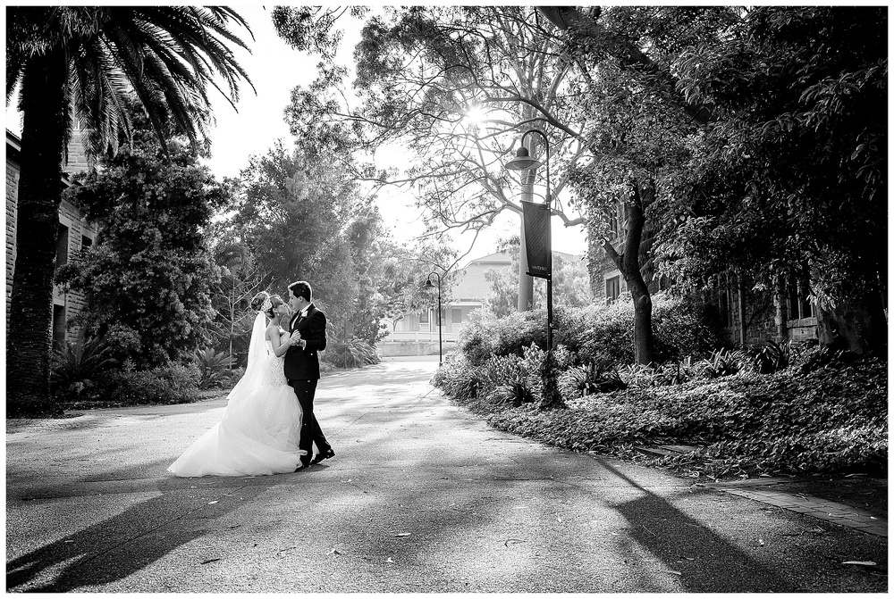 uwa sunken garden wedding