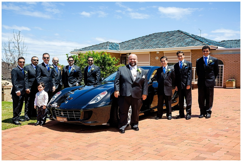 ferrari wedding car perth