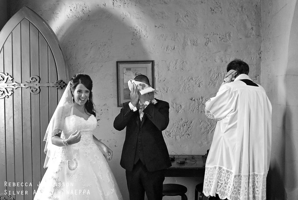 christ church claremont wedding