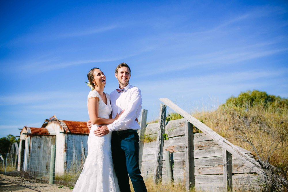 bush wedding near fremantle