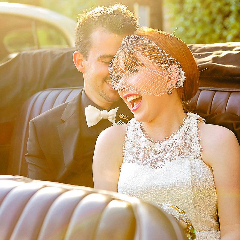 classic wedding car perth