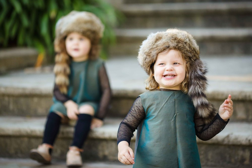fur hats for kids